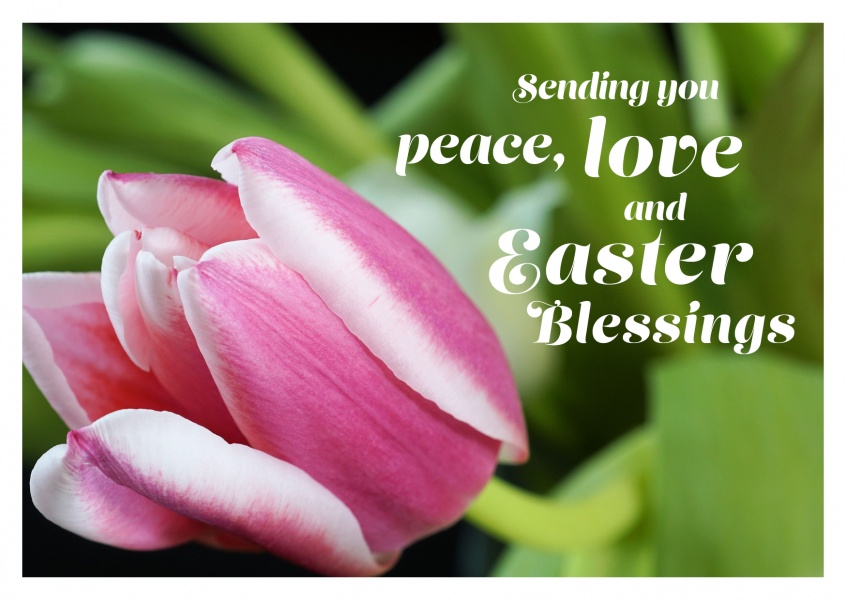Easter Blessings | Happy Easter Cards | Send real postcards online