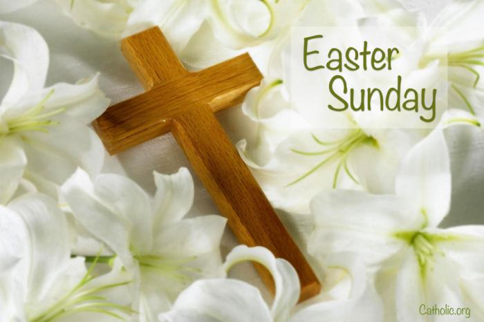 Living Lent': EASTER SUNDAY - HE IS RISEN! - Socials - Catholic Online
