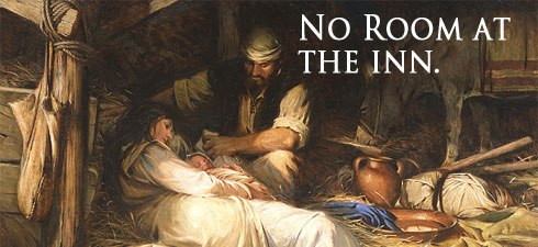 No Room in the Inn? Not so fast. | VERTICAL CHURCH