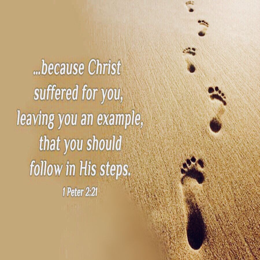 Follow in the footsteps of Jesus Christ | Bible study for kids ...