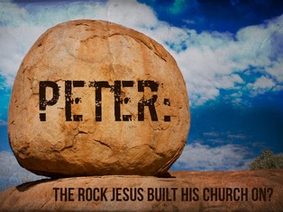 Is Peter the Rock Jesus Built His Church Upon? - Madrid church of ...