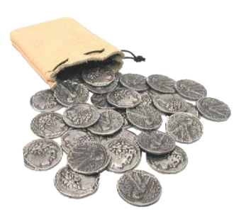 Judas Iscariot's Thirty Silver Coins | Warehouse 13 Artifact ...