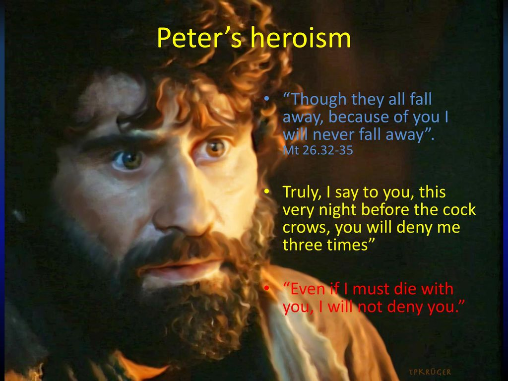 Peter and Judas in the hour of trial - ppt download