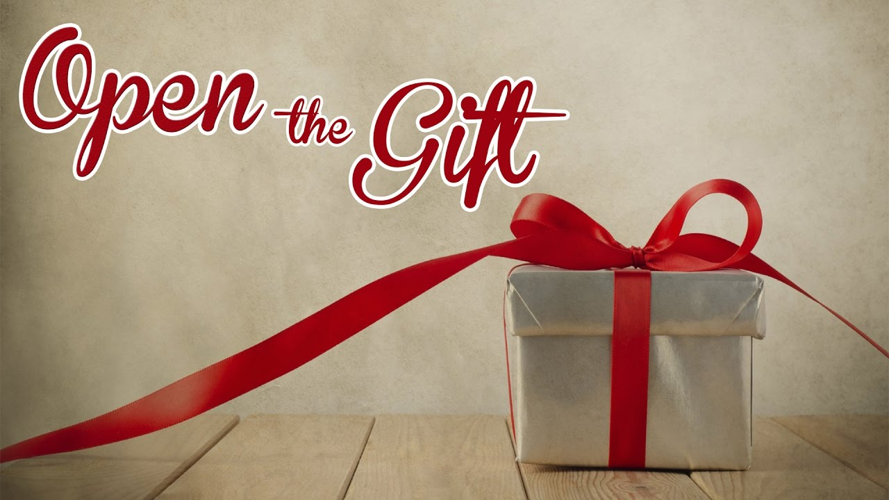 Open The Gift - YouTube