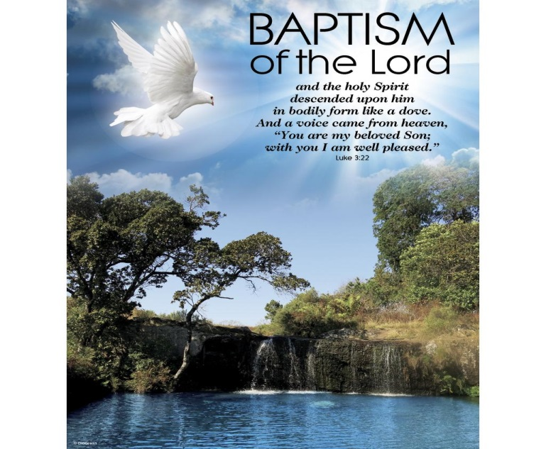 Baptism of the Lord Scenery – Diocesan