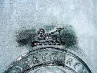Chiming bell inscription.
