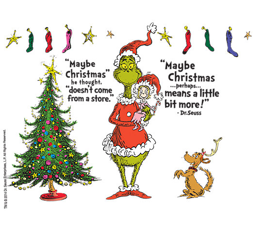 Dr. Seuss™ - Grinch Christmas Quote | Tervis