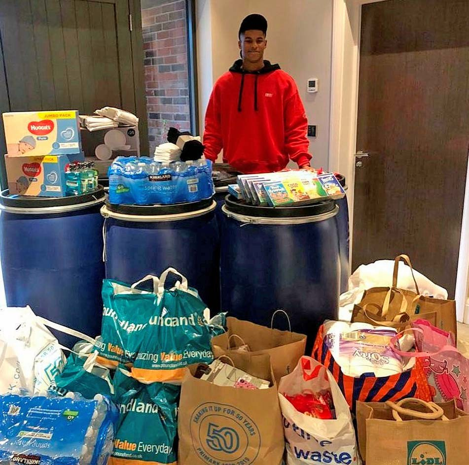 Man Utd hero Marcus Rashford reveals food charity can now supply 4 MILLION  meals to vulnerable across UK