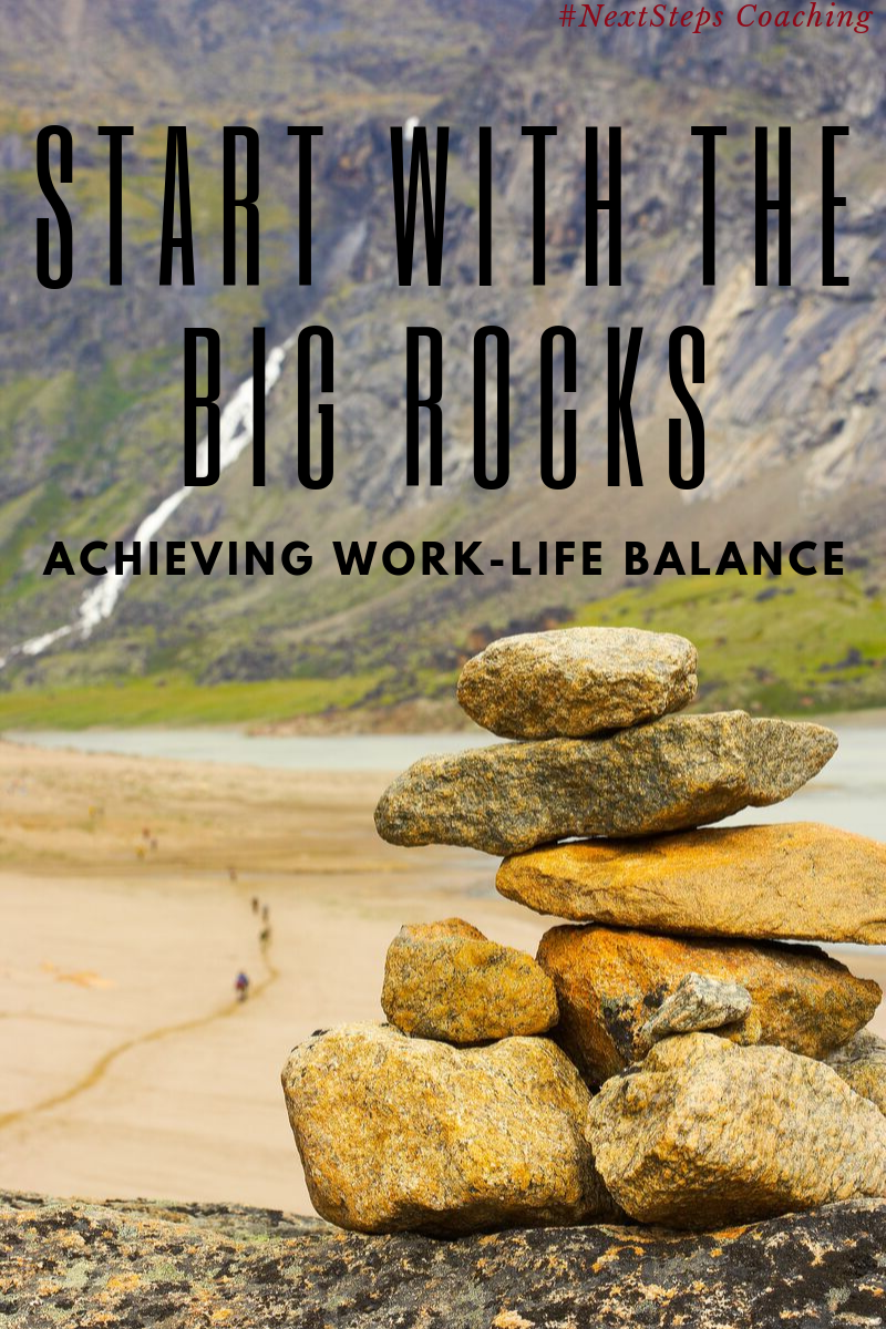 Start With The Big Rocks