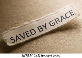 Free Saved By Grace Art Prints and Wall Artwork | FreeArt