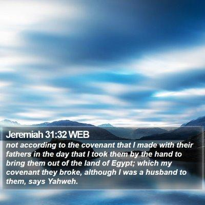 Jeremiah 31 Scripture Images - Jeremiah Chapter 31 WEB Bible Verse Pictures
