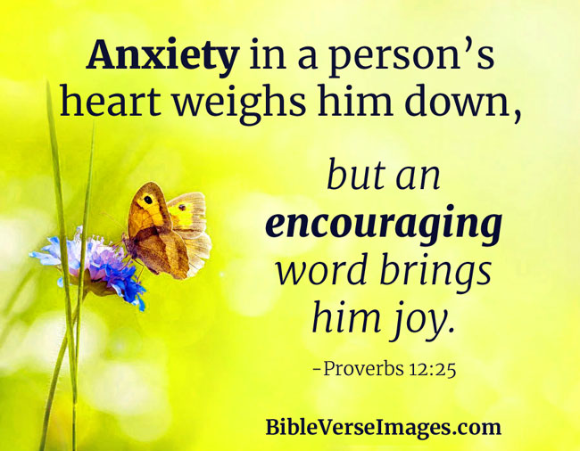 13 Bible Verses about Worry and Anxiety - Bible Verse Images