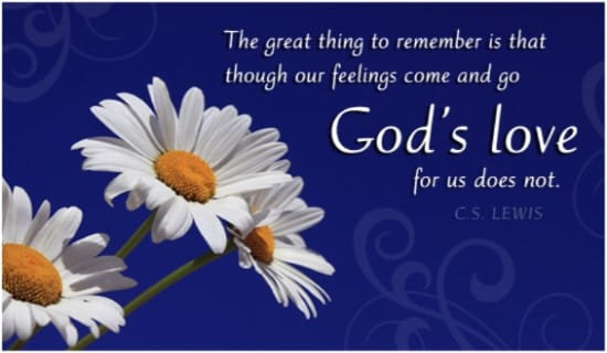Free God's Love eCard - eMail Free Personalized Quotes Cards Online