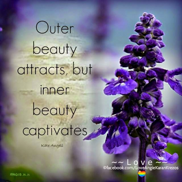 Angie Karan - quotes, poetry, love & inspiration : Inner Beauty Captivates