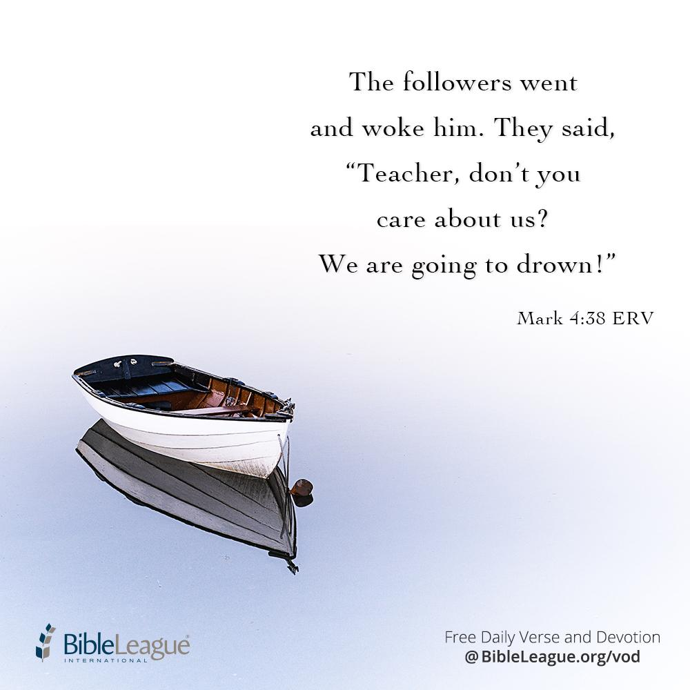 """Bible League on Twitter: """"How often we forget Jesus is in the boat when the  storms of life assail us. To receive daily devotions delivered right to  your inbox, sign up for"""