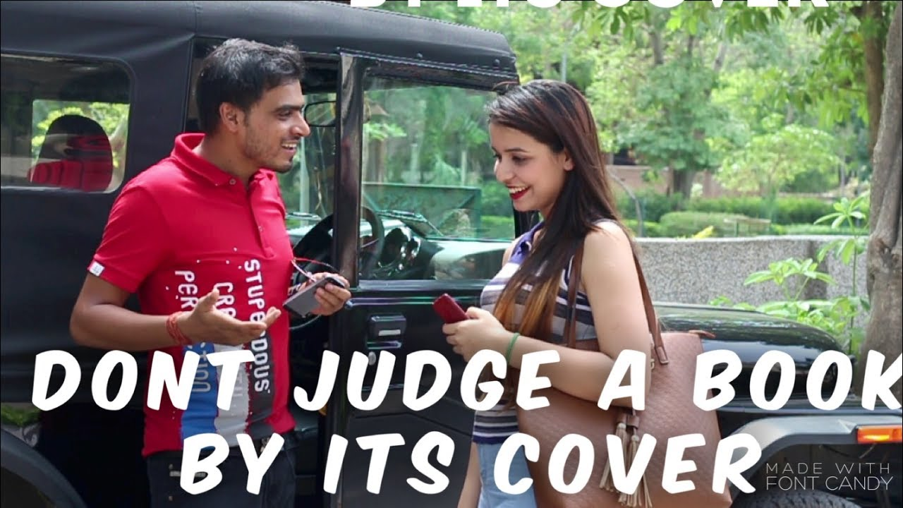 Don't Judge a Book by its Cover - YouTube