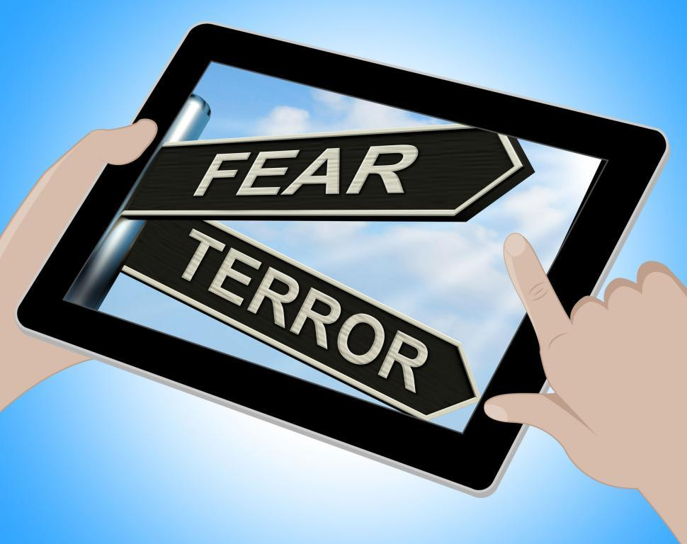 Free Stock Photo of Fear Terror Tablet Shows Frightened And Terrified |  Download Free Images and Free Illustrations