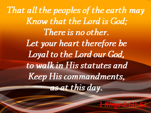 The Character of Those Who May Dwell with the Lord   Share A Verse